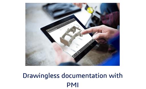 Drawingless documentation with PMI