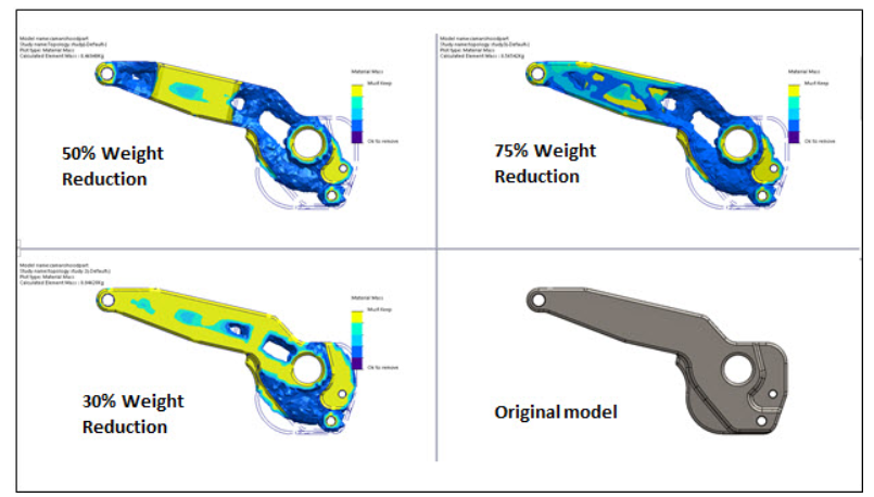 solidworks Displacement Constraint