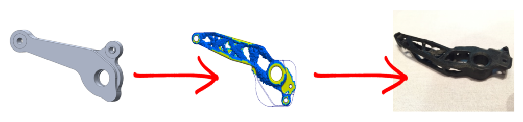 solidworks toplogy Thickness Control