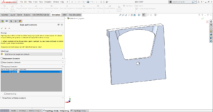 Topology Study in SOLIDWORKS SIMULATION 2019