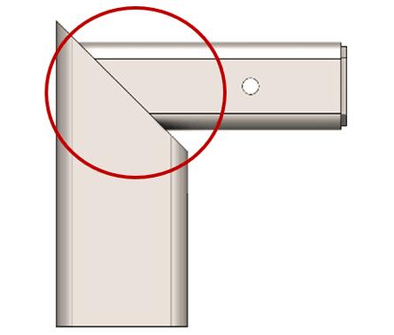 equal angle miter