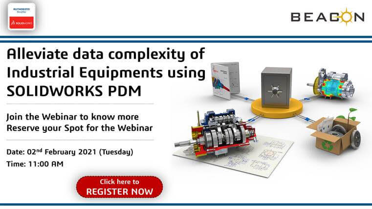 Alleviate-data-complexity-of-Industrial-Equipments-using-SOLIDWORKS-PDM
