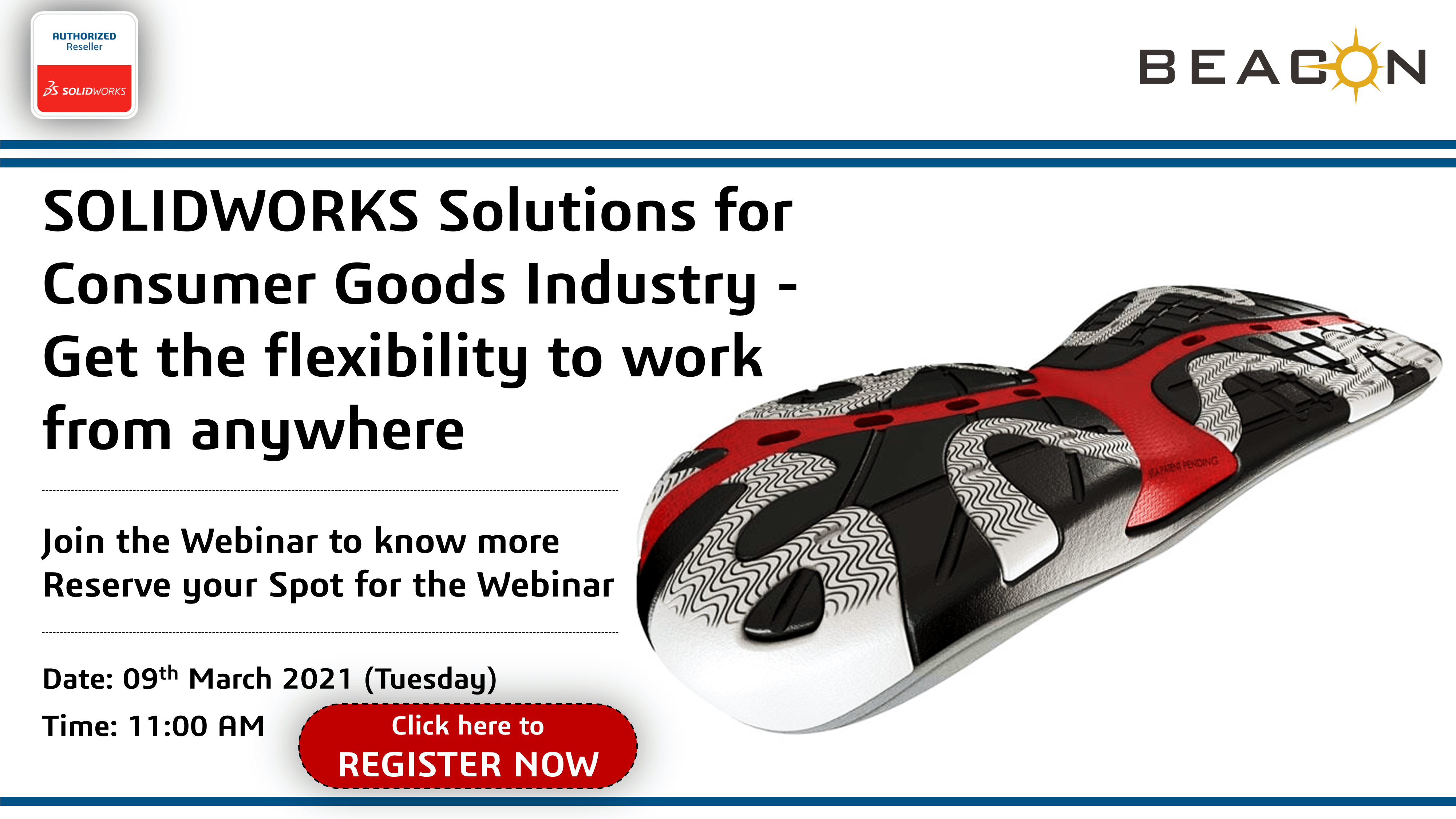 SOLIDWORKS Solutions for Consumer Goods Industry - Get the flexibility to work from anywhere