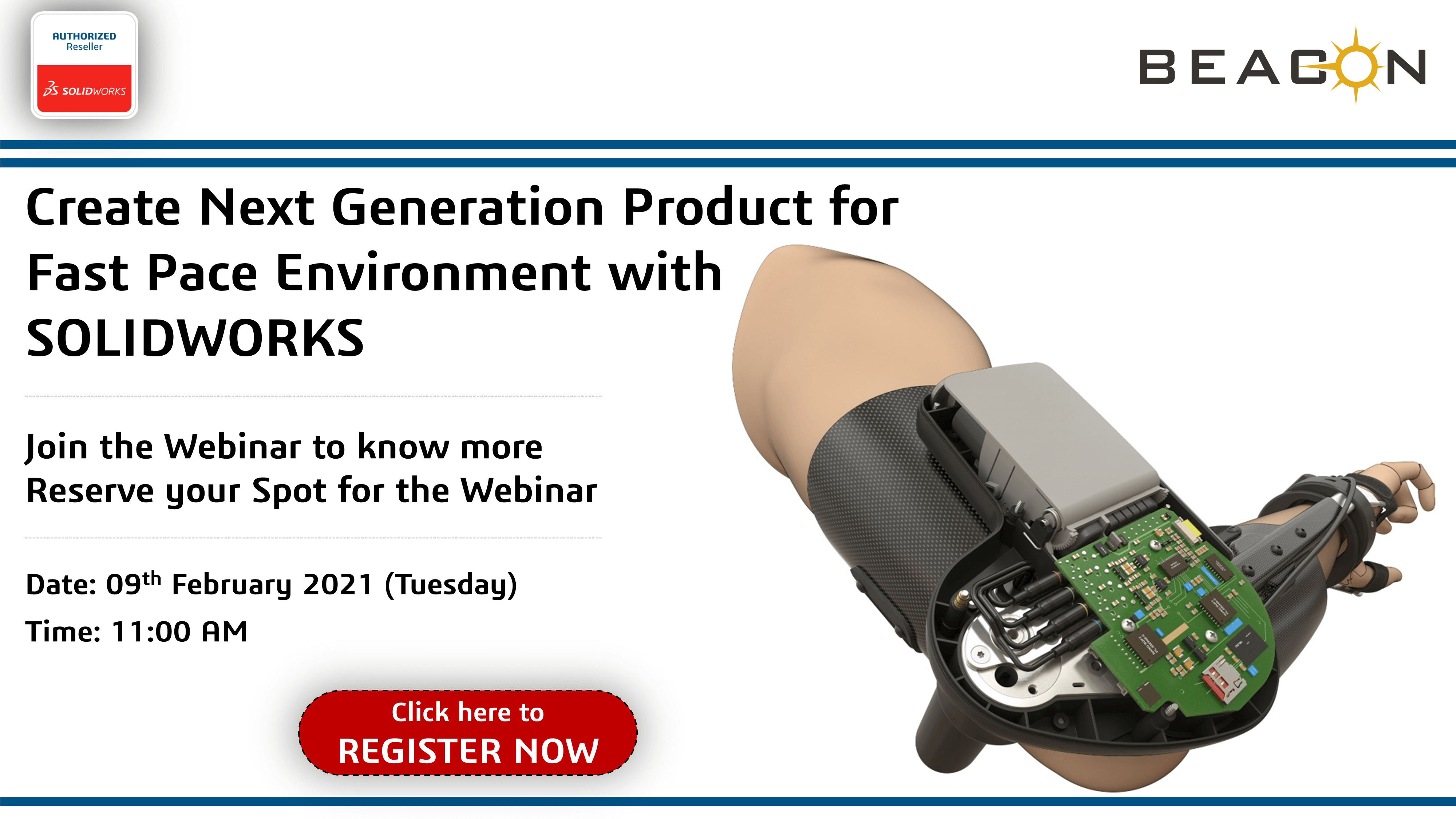 Create Next Generation Product for Fast Pace Environment with SOLIDWORKS