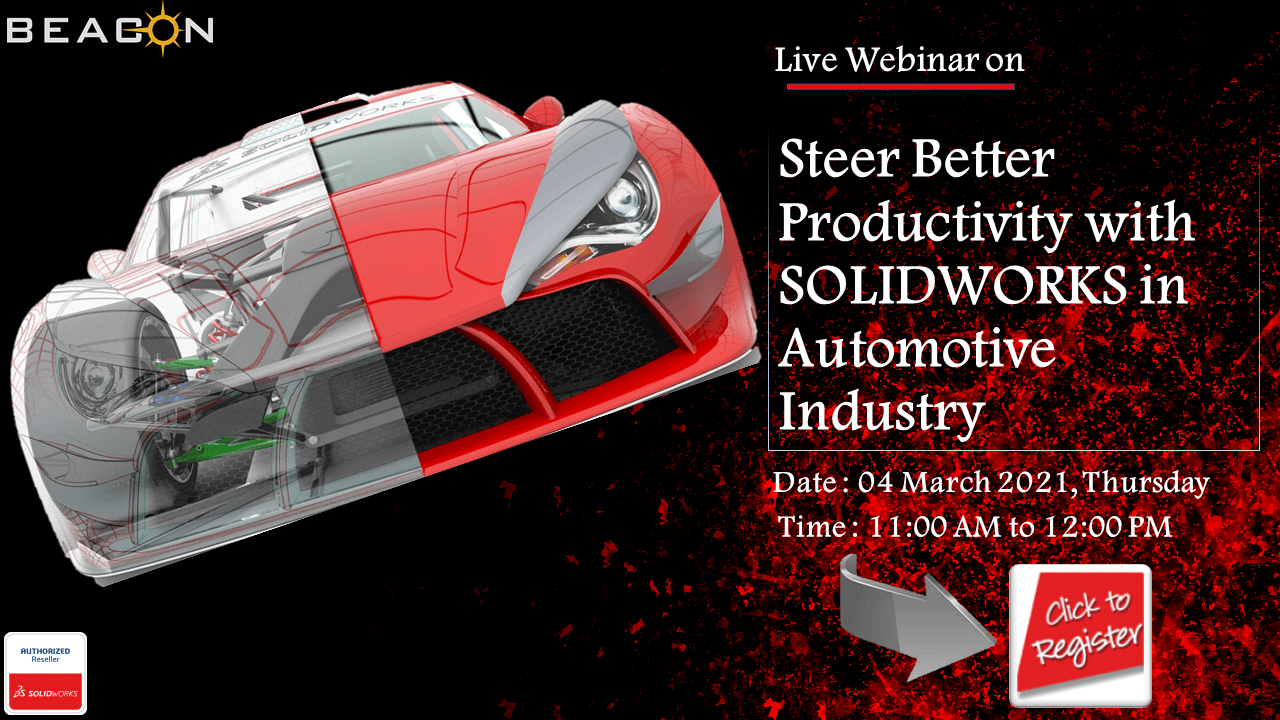 Steer better Productivity with SOLIDWORKS in Automotive Industry