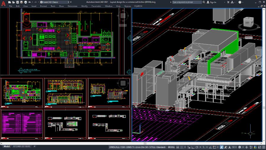 DWG capable in both 2D & 3D functionalities