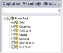 Captured components
