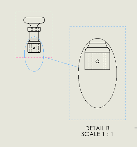 Get Detail view as per the selected sketch