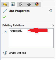 Patterened0 in sketch pattern