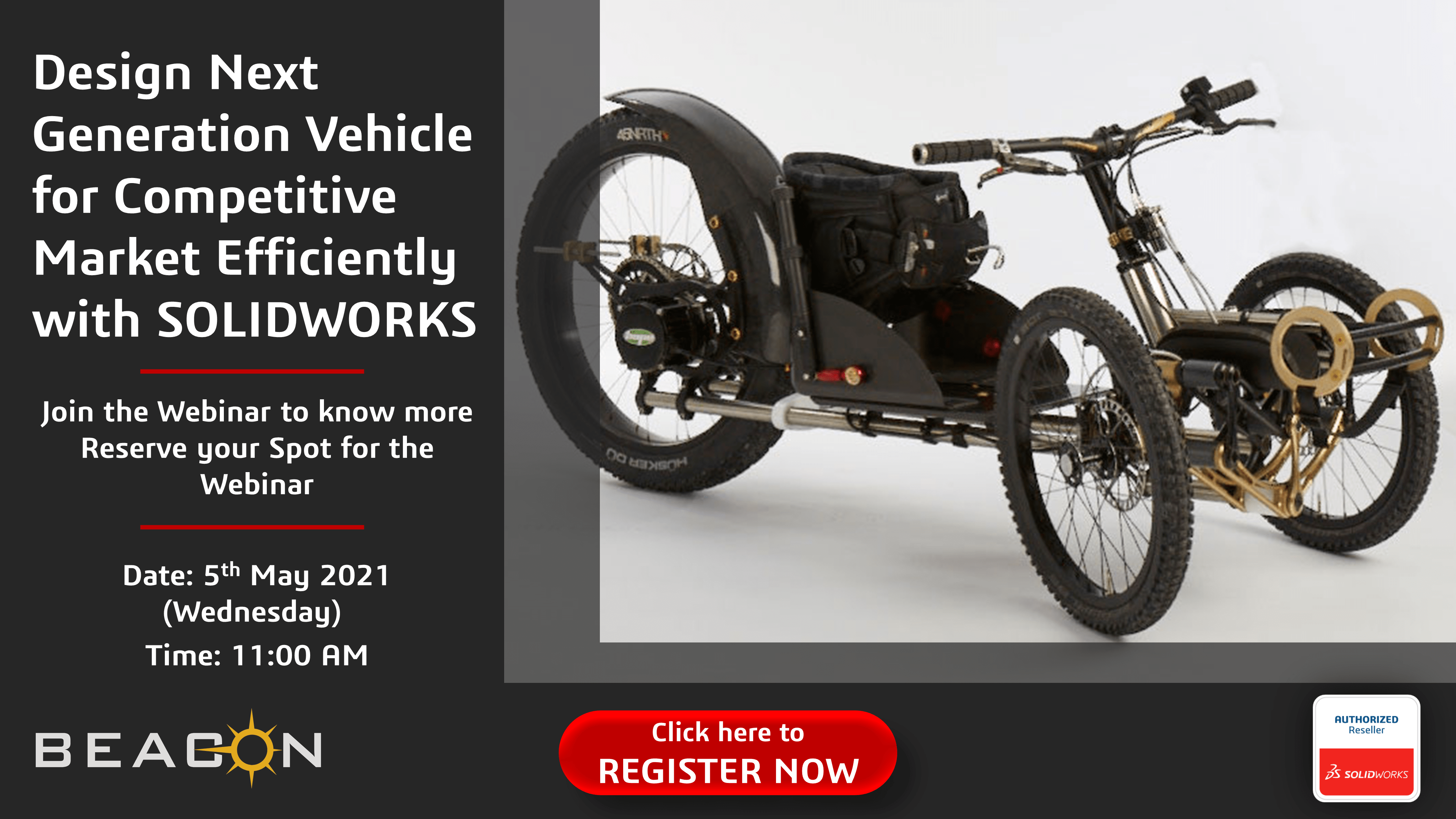 Design Next Generation Vehicle for Competitive Market Efficiently with SOLIDWORKS