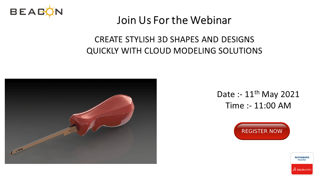 CREATE STYLISH 3D SHAPE AND DESIGNS QUICKLY WITH CLOUD MODELLING SOLUTION