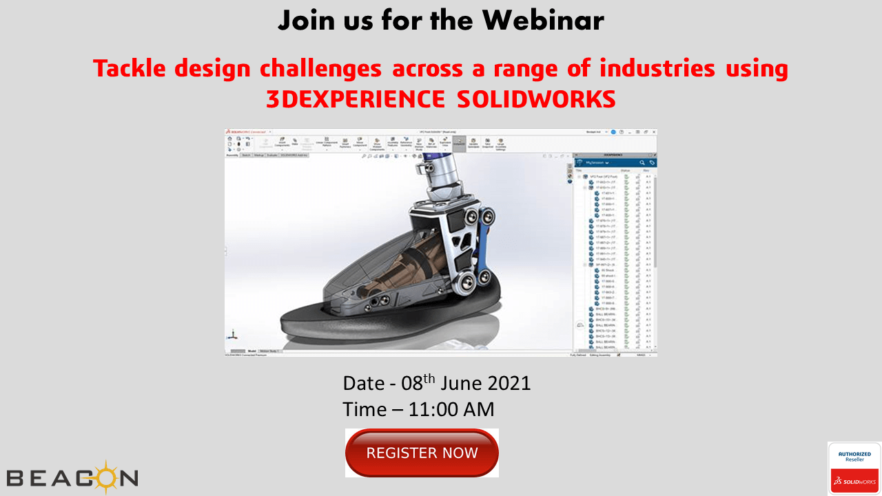 Tackle design challenges across a range of industries using 3DEXPERIENCE SOLIDWORKS