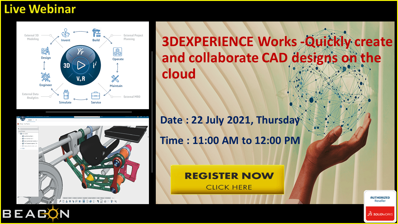 3DEXPERIENCE Works - Quickly Create and Collaborate CAD Designs on the Cloud