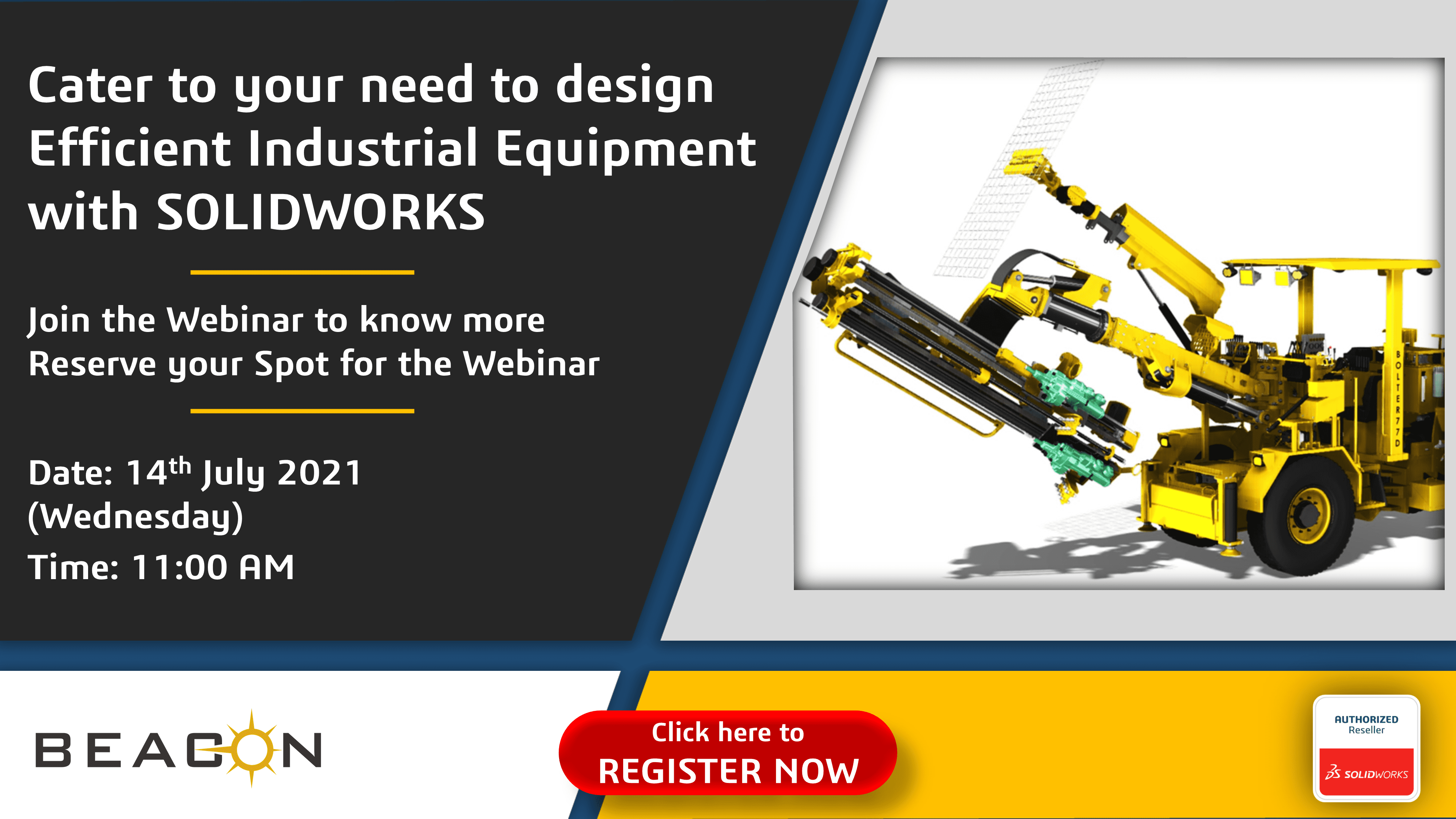 Cater to your need to design Efficient Industrial Equipment with SOLIDWORKS