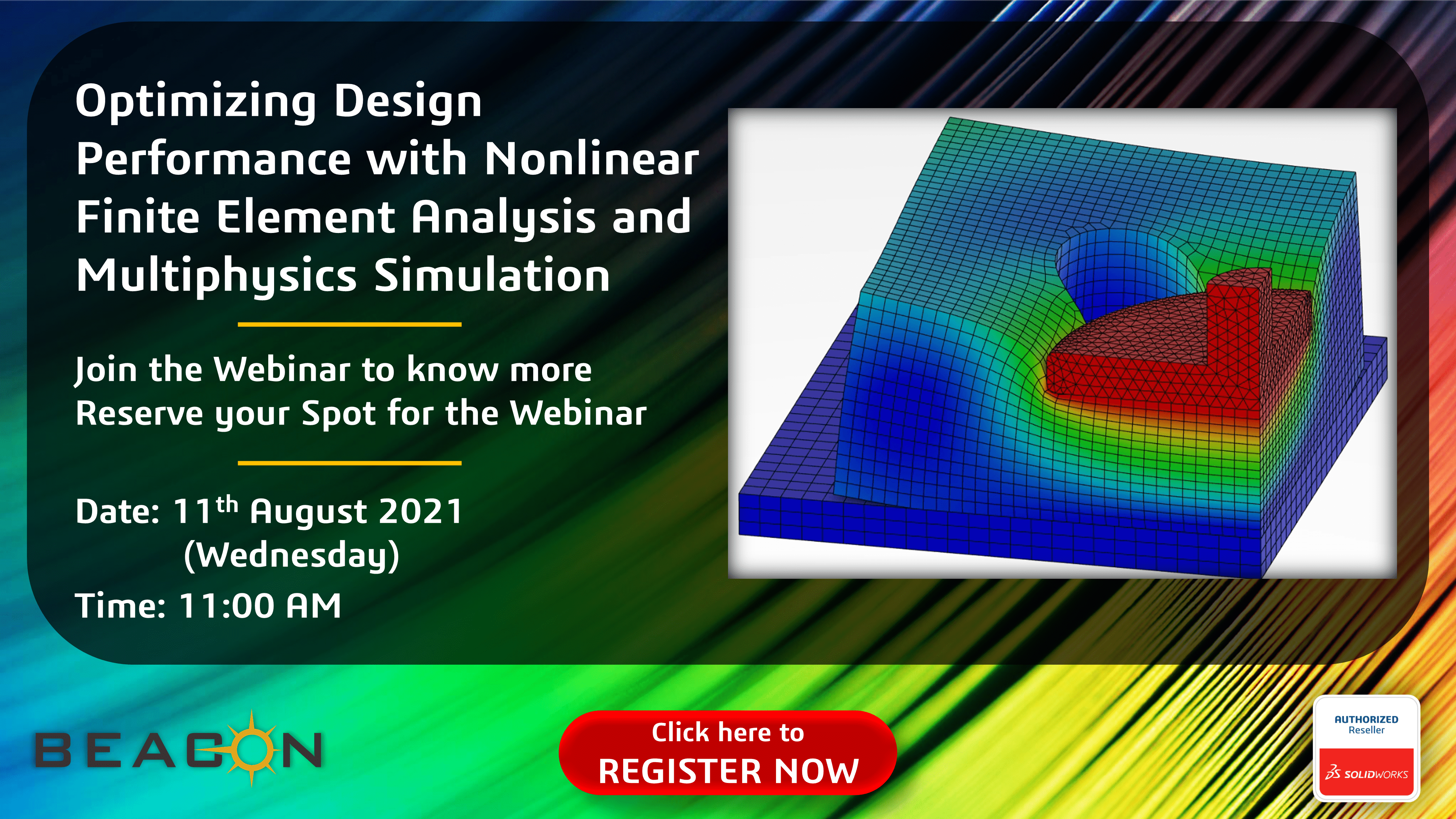 Optimizing Design Performance with Nonlinear Finite Element Analysis and Multiphysics Simulation