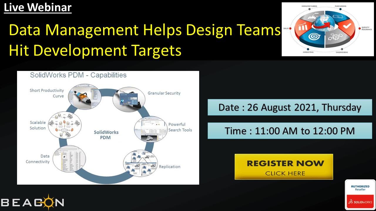 Data management Helps Design Teams Hit Development Targets