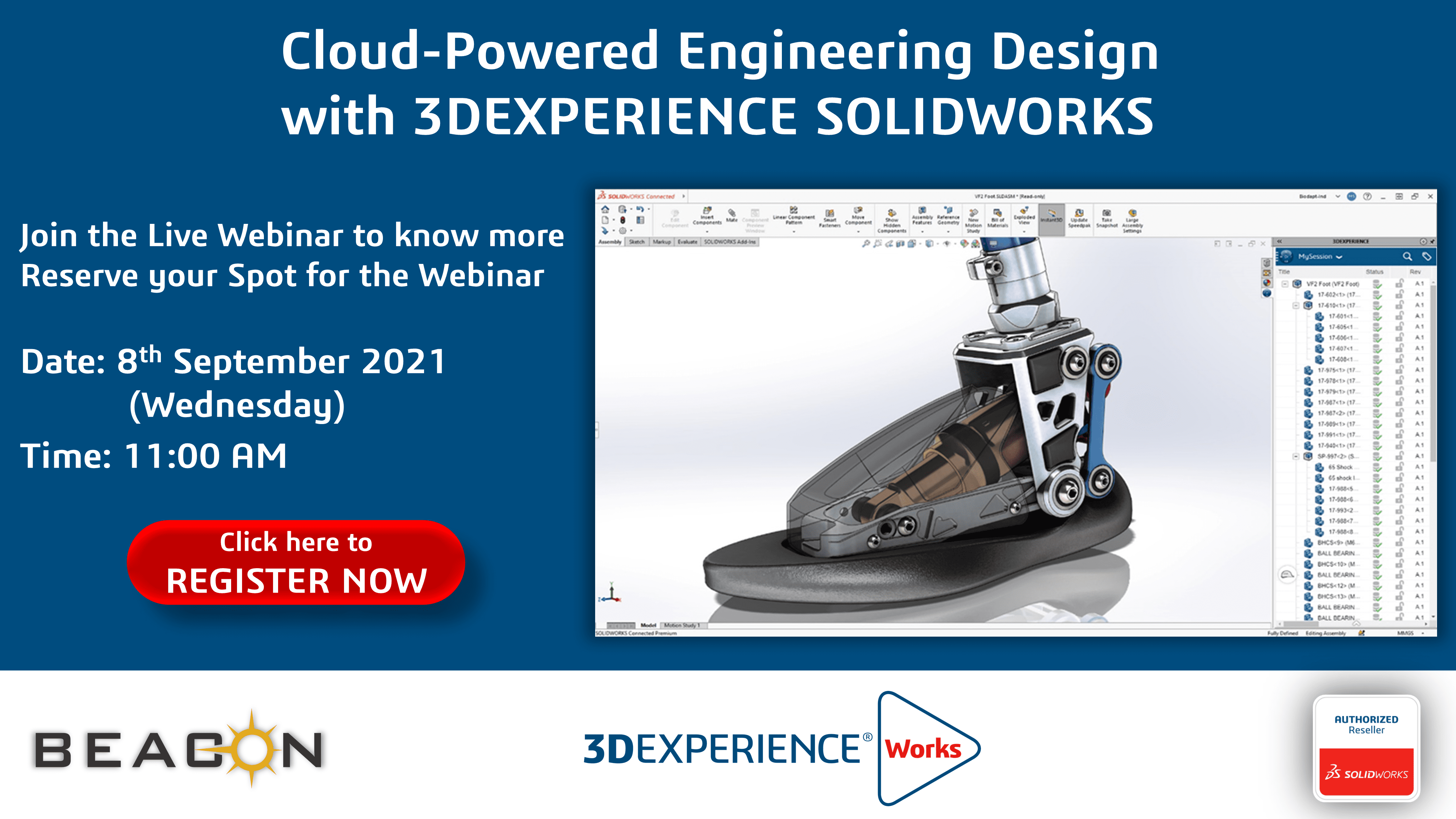 Cloud-Powered Engineering Design with 3DEXPERIENCE SOLIDWORKS