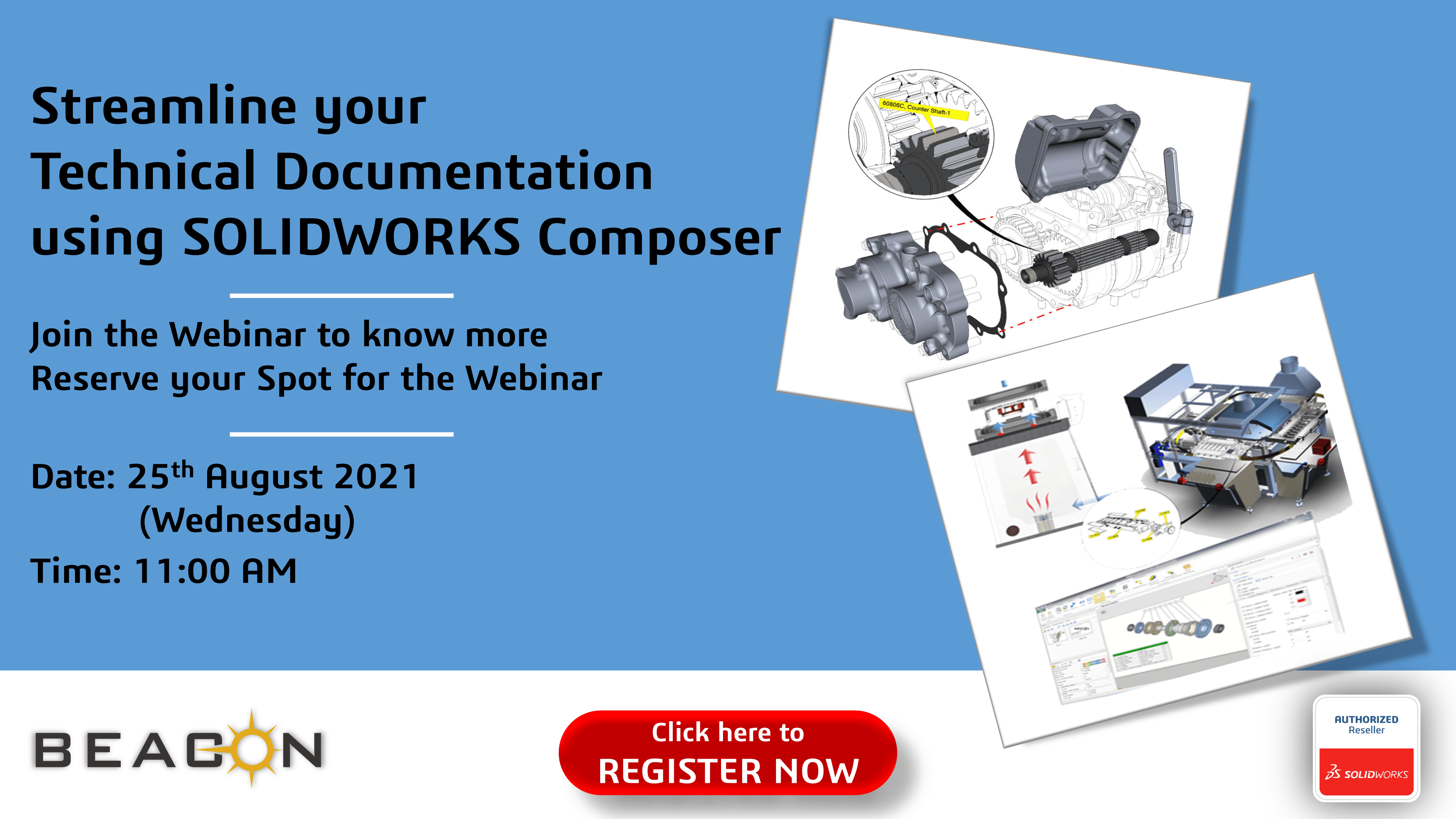 Streamline your Technical Documentation using SOLIDWORKS Composer